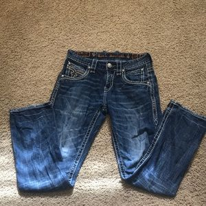 Men's size 28 straight leg Rock Revival jeans!💙